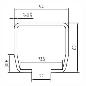 Направляющая шина SG.02.001