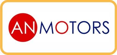 Логотип AnMotors автоматика, шлагбаумы
