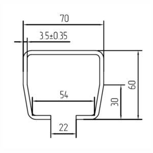 Направляющая шина SG.01.001